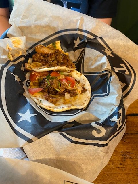 Q and Brew street tacos