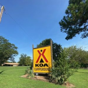 KOA stands for Campgrounds of America