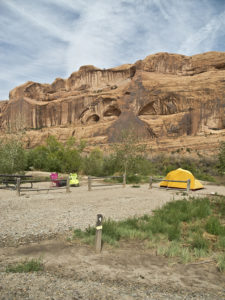 king's bottom campgrounds near moab